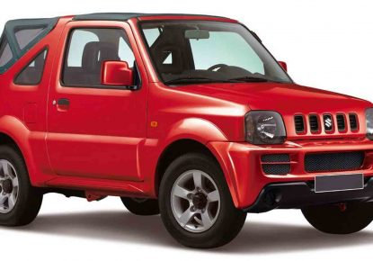 SUZUKI JIMNY MANUAL CABRIO 4×4